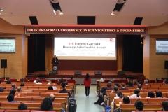 国际科学计量学与信息计量学大会在武汉大学召开